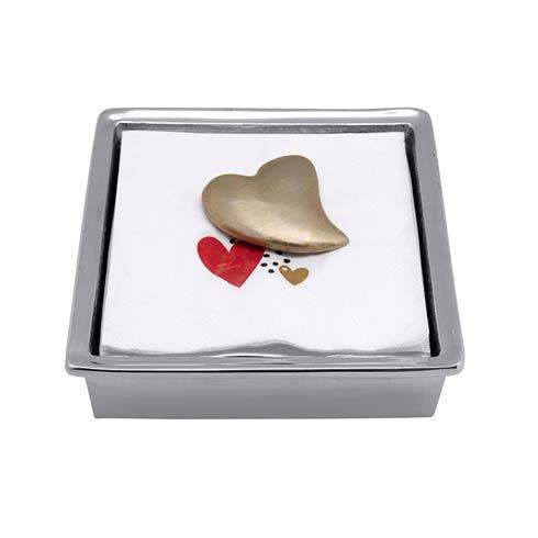 $33.60 Heart Napkin Box