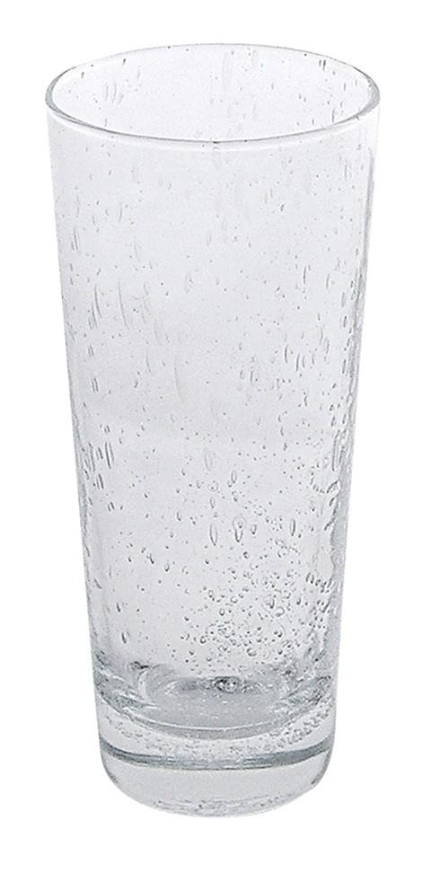 Mariposa Glassware Bellini Italian Bubble Glass Bellini Iced Tea Glass $26.00