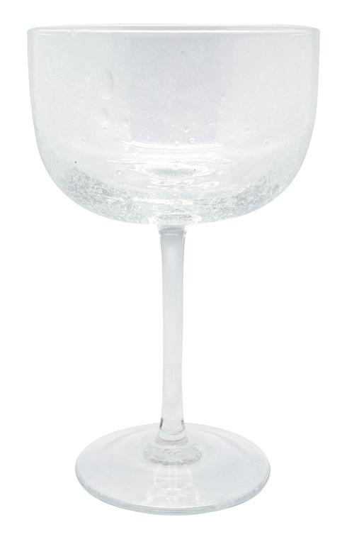 $39.00 Bellini Clear Champagne Coupe