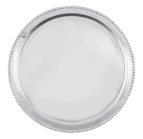 $82.00 Charms Beaded Round Platter