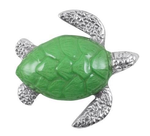 Green Turtle Charm