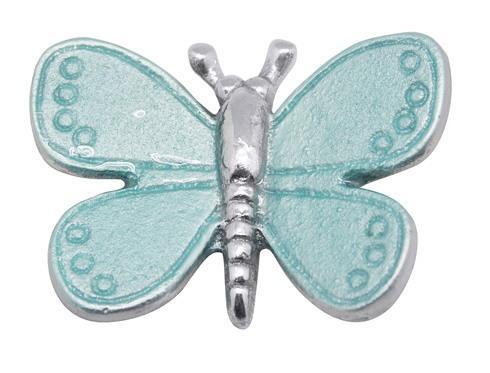 Aqua Butterfly Charm