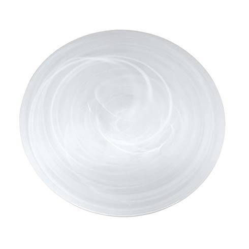 White Large Platter