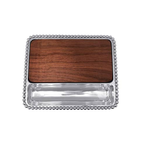 $159.00 Cheese Board, Dark Wood