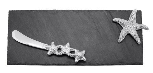 Mariposa Serving Trays and More Seaside Starfish Slate & Spreader Set $54.00