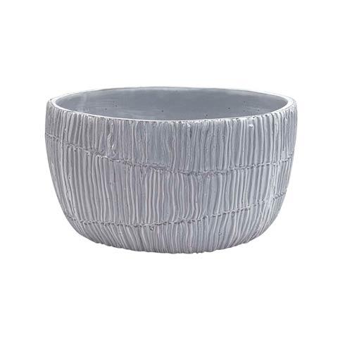 $34.30 Ceramic Salt Grass Oval Vase