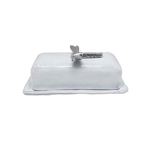 $69.00 Dragonfly Ceramic Butter Dish