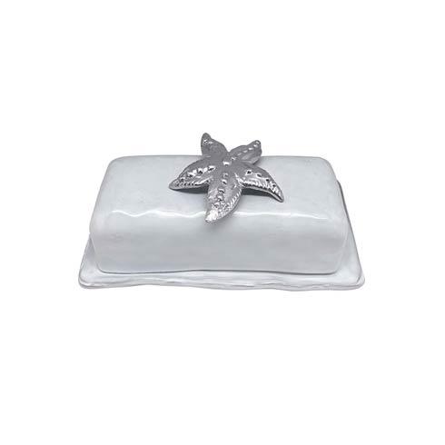 Starfish Ceramic Butter Dish image