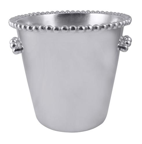 Mariposa  String of Pearls Pearled Individual Ice Bucket $198.00