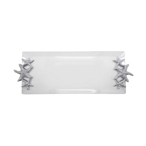$79.00 Starfish Handle Acrylic Tray