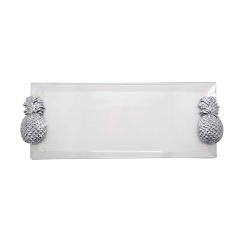 $79.00 Pineapple Handle Acrylic Tray