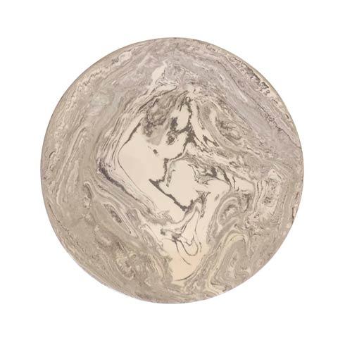 $145.00 Stone Marble Ceramic Round Platter