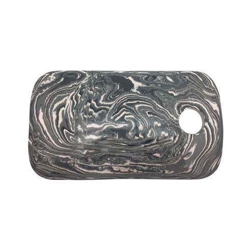 $110.00 Gray Marble Ceramic Cheese Board