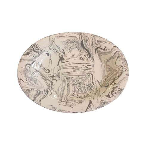 $123.90 Stone Marble Ceramic Oval Platter
