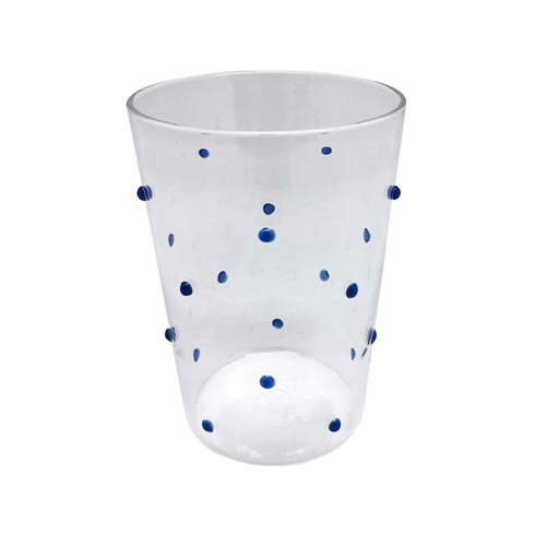 $39.00 Blue Dotty DOF Glass