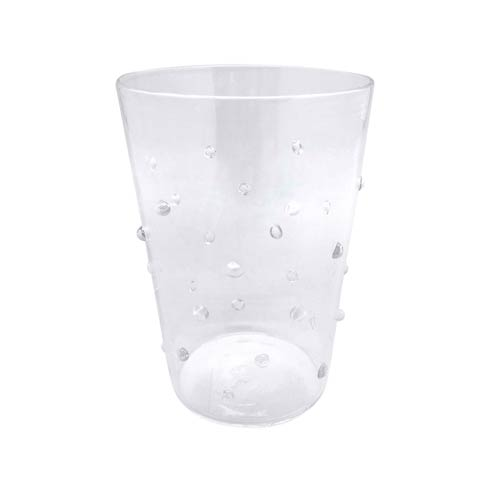 Mariposa Glassware Turkish Products Clear Dotty DOF Glass $39.00