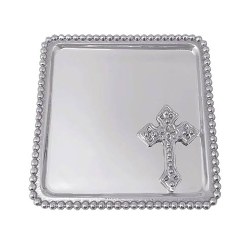 $39.00 Cross Beaded Statement Tray
