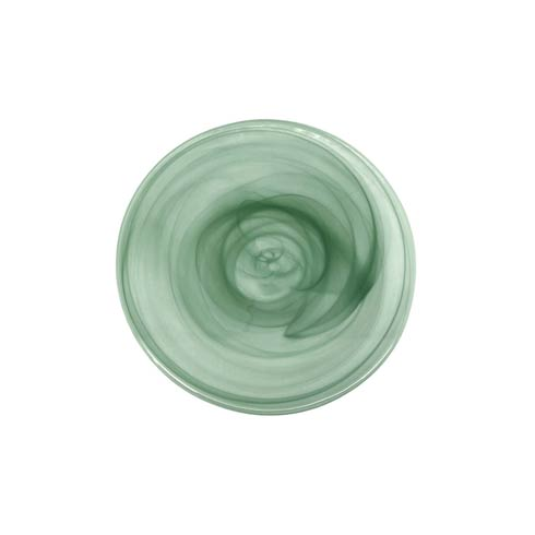 Green Dessert Plate image