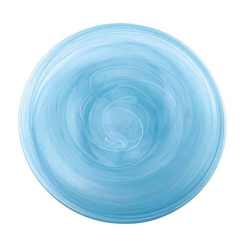 $22.00 Aqua Charger Plate
