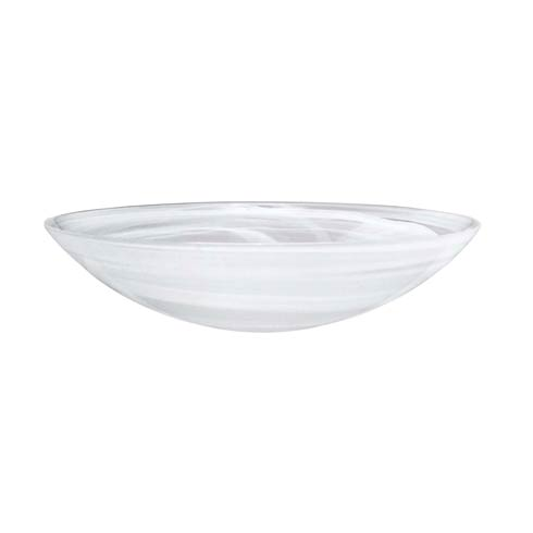 White Serving Bowl image