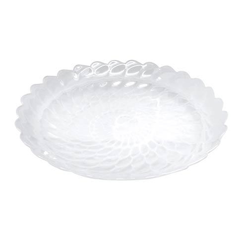 $59.00 White Large Scallop Rim Bowl