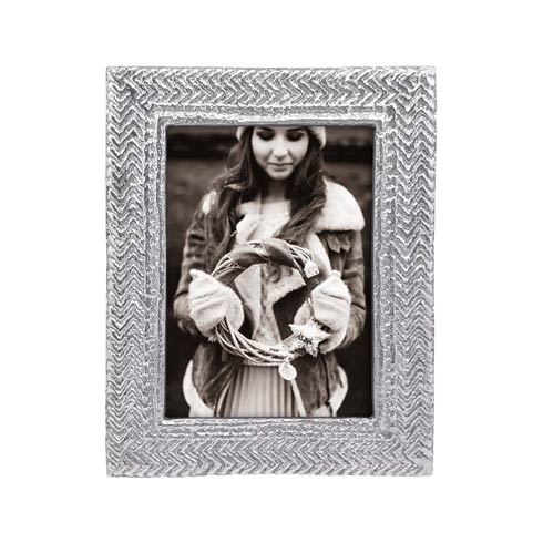 Mariposa  Decorative Frames Cable Knit 5x7 Frame $74.00