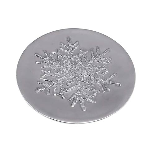 $49.00 Dotty Snowflake Small Plate