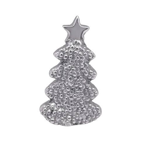 Mariposa  Traditions Dotty Christmas Tree Napkin Weight $14.00
