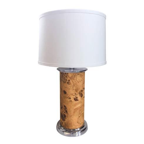 $265.00 Burlwood Column Table Lamp
