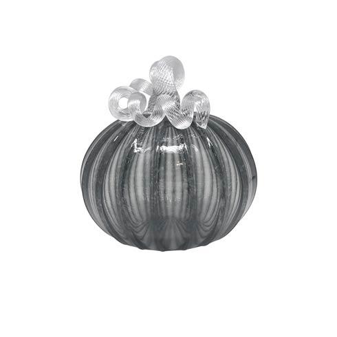 $124.00 Smoke Glass Extra Large Pumpkin