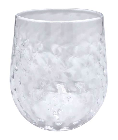 $39.00 Clear Lowball Glass