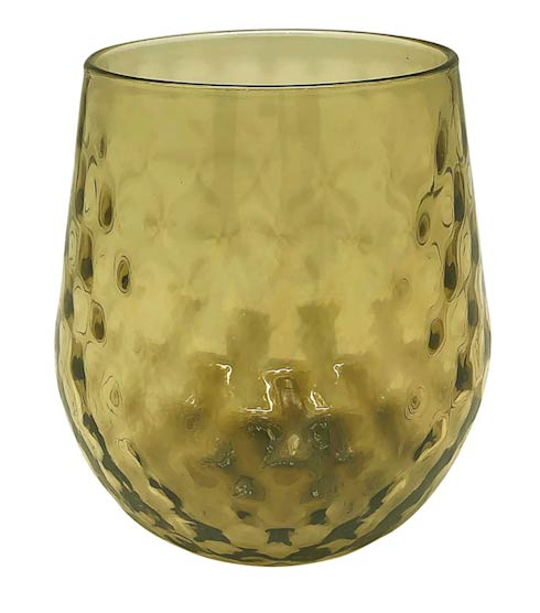 $39.00 Ginger Lowball Glass