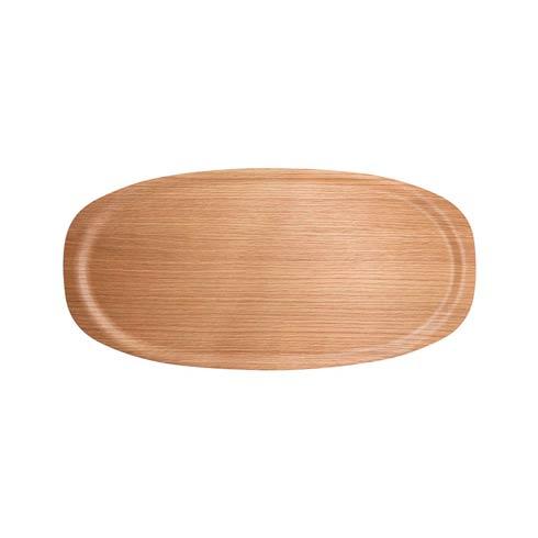 $68.60 Oak Viventium Oval Tray