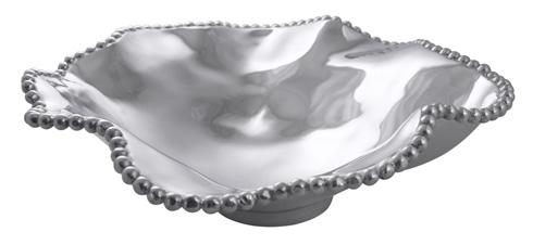 Mariposa Bowls String of Pearls Pearled Wavy Large Serving Bowl $198.00