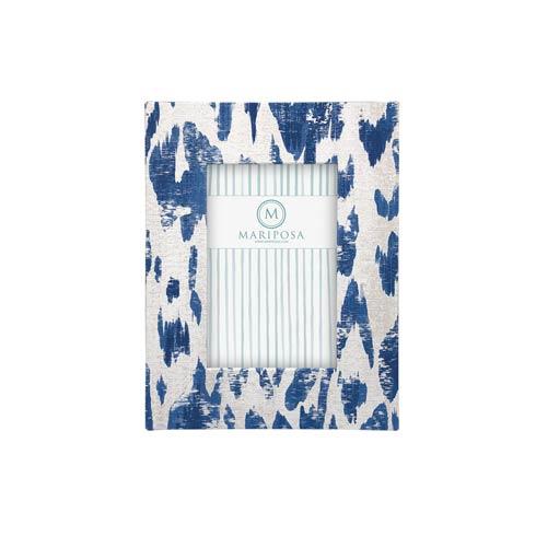 $98.00 Carlotta Blue 4x6 Frame