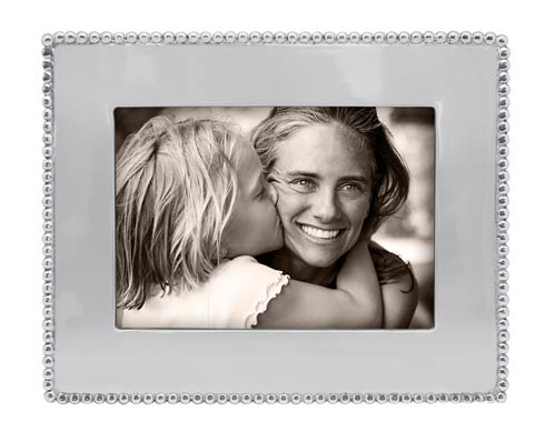 Mariposa Photo Frames Beaded Beaded 5x7 Engraveable Frame $69.00