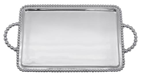 Mariposa  Beaded Beaded Medium Service Tray $89.00