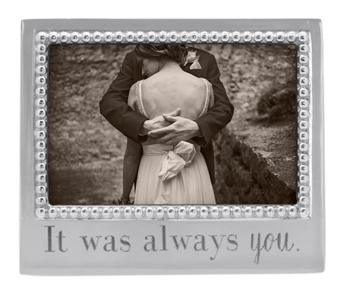 Mariposa  Engraved Statements IT WAS ALWAYS YOU Beaded $34.30