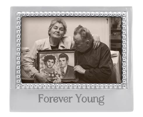 $34.30 FOREVER YOUNG Beaded 4x6 Frame