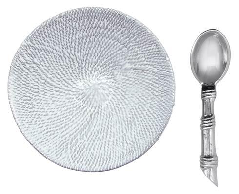 $49.00 Mustique Ceramic Canape Plate