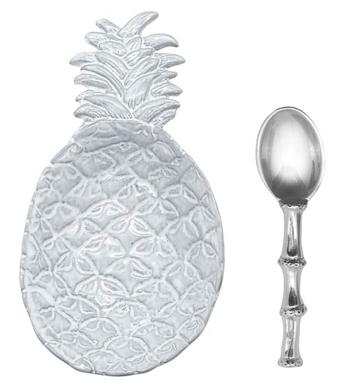 $49.00 Pineapple Ceramic Canape Plate