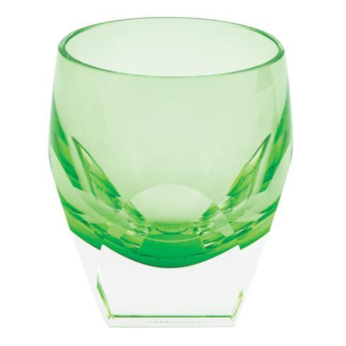 Shot Glass 1.5 oz Underlay Green