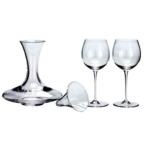 Decanter Set Clear