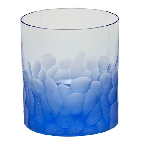 Moser Barware Pebbles D.O.F. 12.5 Oz. Aquamarine $125.00