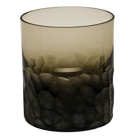 Moser Barware Pebbles D.O.F. 12.5 Oz. Smoke $125.00