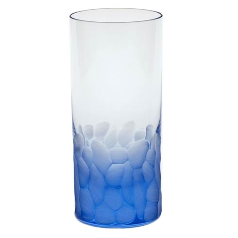 Moser Barware Barware - Pebbles Hiball 13.5 Oz. Aquamarine $105.00