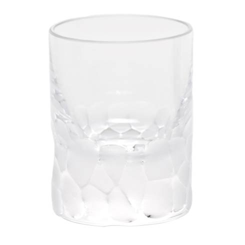 Moser Barware Pebbles Shot Glass 2 Oz. Clear $65.00