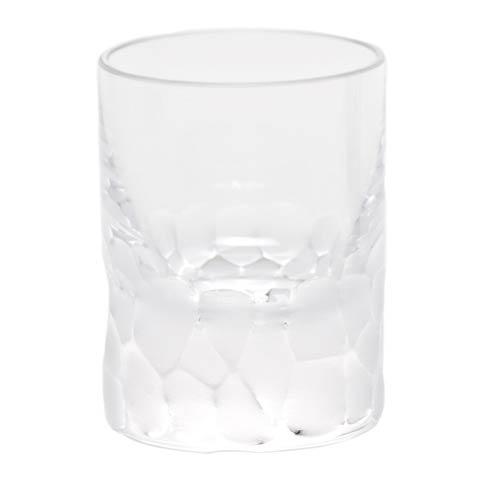 Moser Barware Pebbles Shot Glass 2 Oz. Clear $65.00