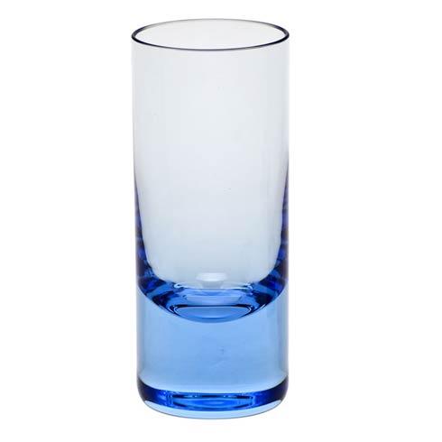 Moser Barware Vodka Shot Glass 2.5 Oz. Aquamarine $55.00