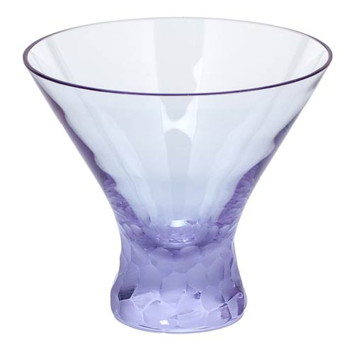 Moser Barware Pebbles Martini 8.5 Oz. Stemless - Alexandrite $150.00